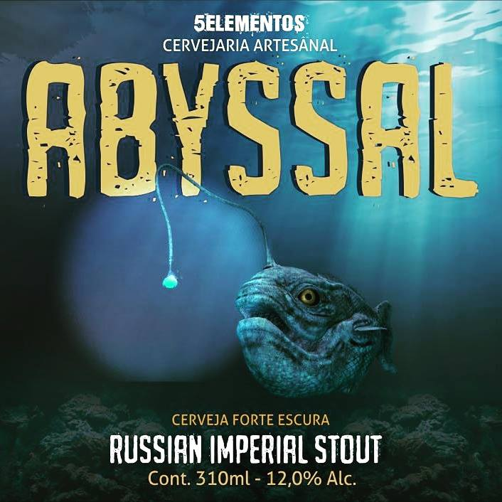 Cerveja Abyssal Russian Imperial Stout